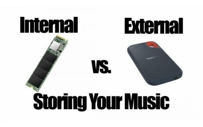 External vs. Internal Drives. How To Store Your Music.