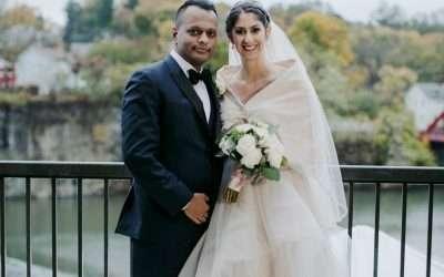 Larissa & Deepak
